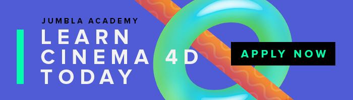 Jumbla Academy is Now a Cinema 4D Training Course